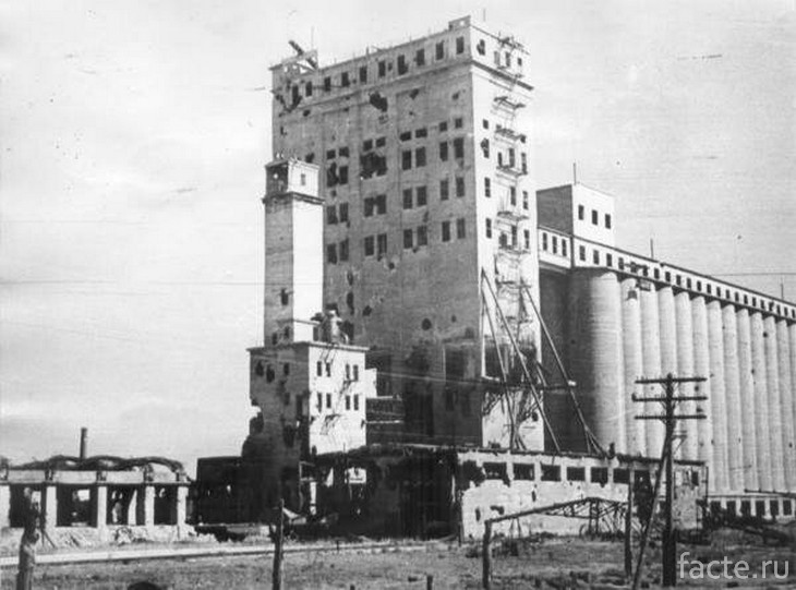 Элеватор Сталинград