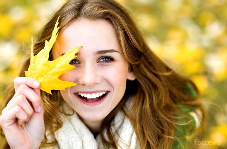 Радостная улыбка