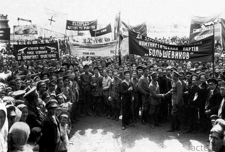 Россия 1918 год - Первомай