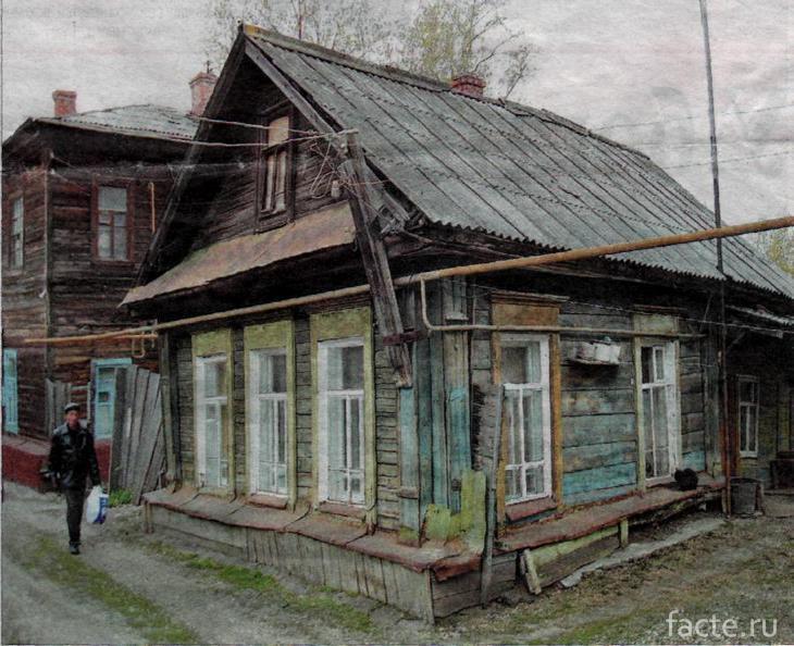Дом № 84 на ул. Чкалова