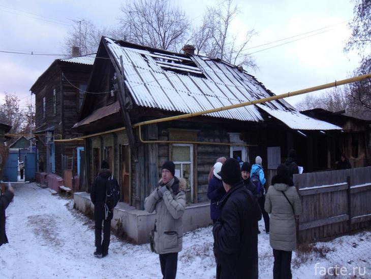 Экскурсия к дому, где было стояние Зои