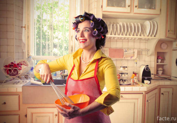 Странная домохозяйка
