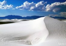 белые пески