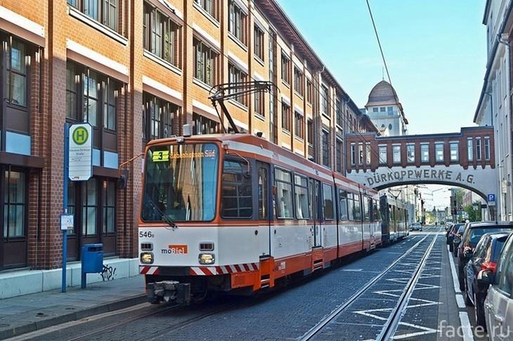 Трамвай в Билефельде
