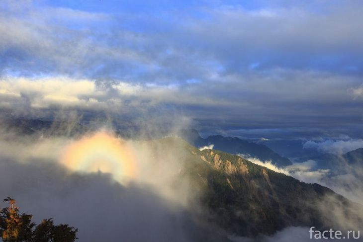 «Призрак» на горе Брокен