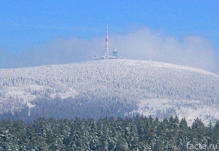 Гора Брокен зимой