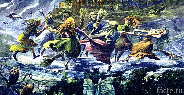 Шабаш ведьм на горе Брокен