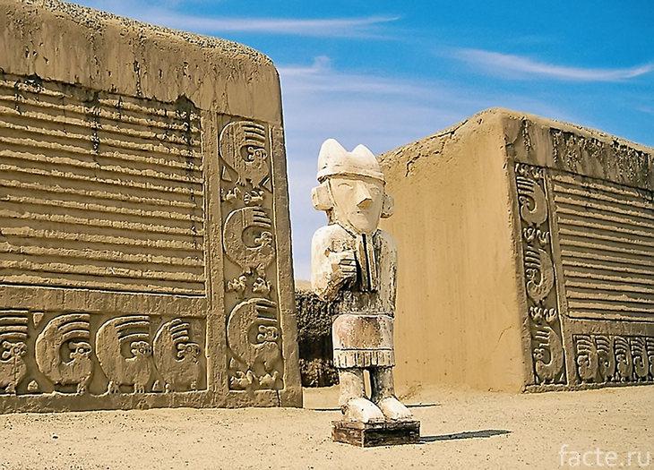 Барельефы цивилизации Чиму