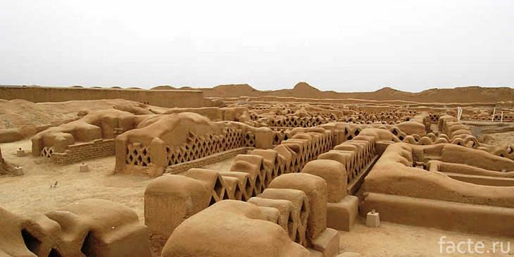 Древний город цивилизации Чиму