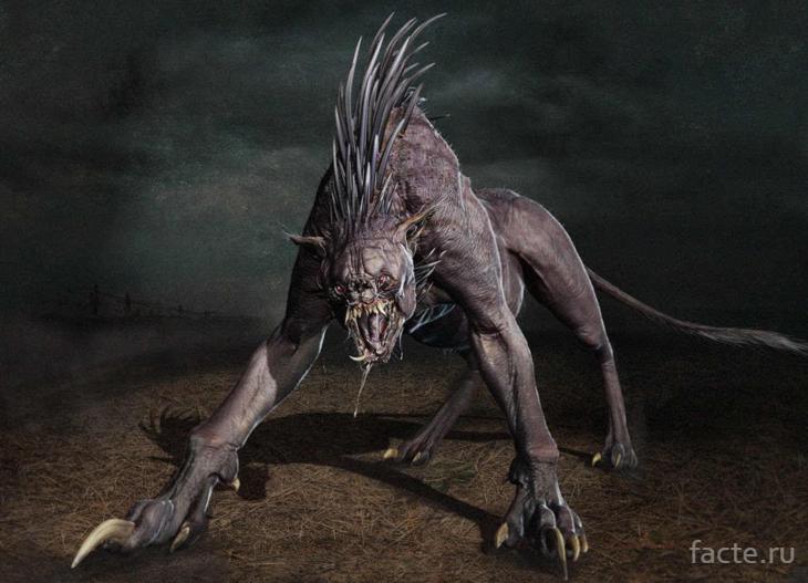 чупакабра монстр