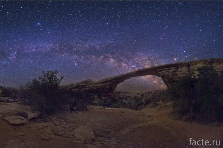 Ночное небо в пустыне