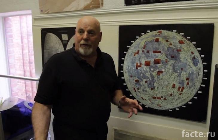 Деннис Хоуп продает участки на Луне