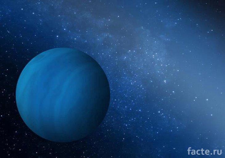 Синяя экзопланета