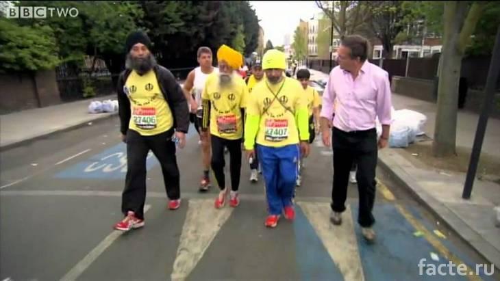 Фауджа Сингх и другие марафонцы