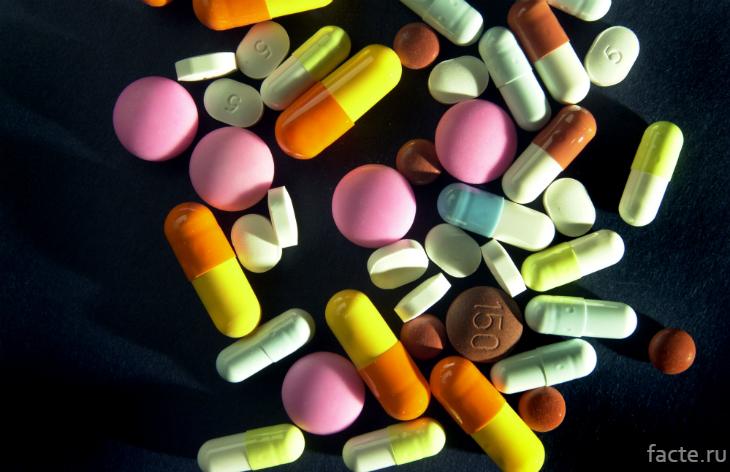 Разнообразные таблетки