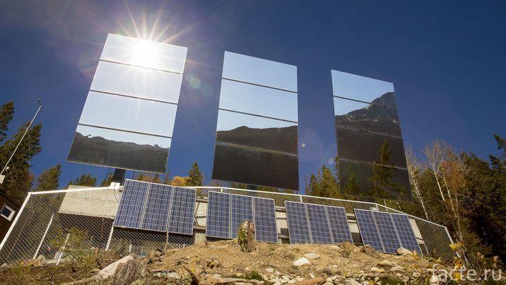 Рюканские солнечные зеркала