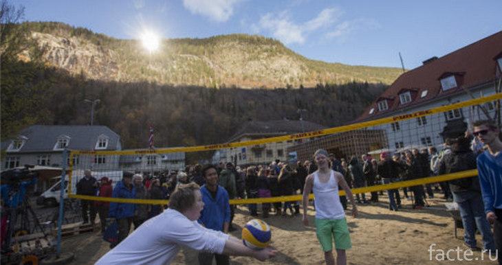 Волейбол в Рюкане