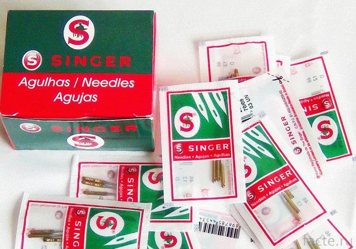 Набор швейных игл «Зингер»