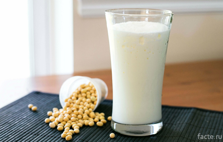 Домашнее соевое молоко