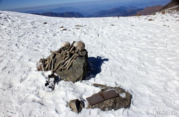 Скелеты из озера Рупкунд