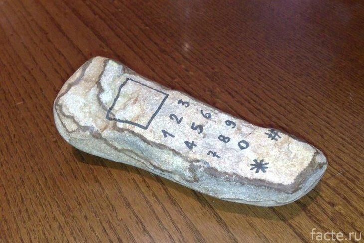 Древний телефон