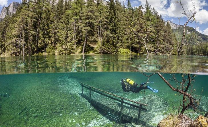 Озеро Грюнер Зее