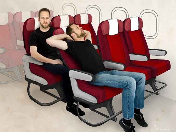 Зачем поднимать спинки сидений во время взлета или посадки?