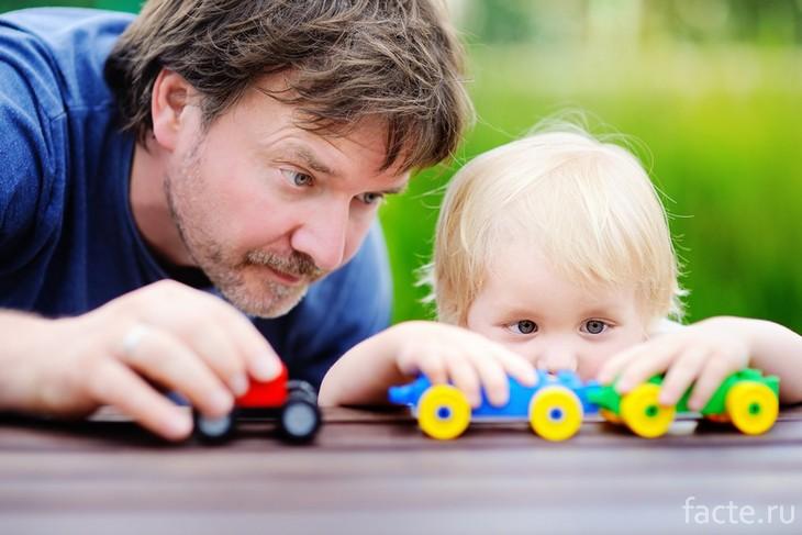 Папа с ребенком