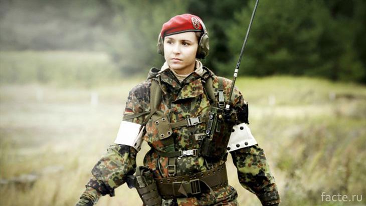Российский женский спецназ