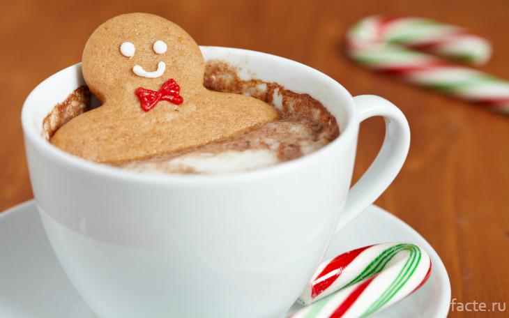 Печенька в кофе
