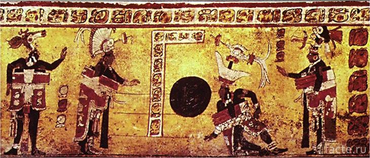 Игра в мяч майи