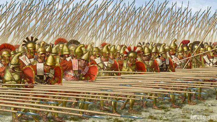 Войско Александра Македонского