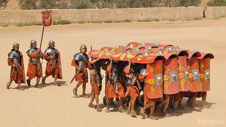 Группировка римлян