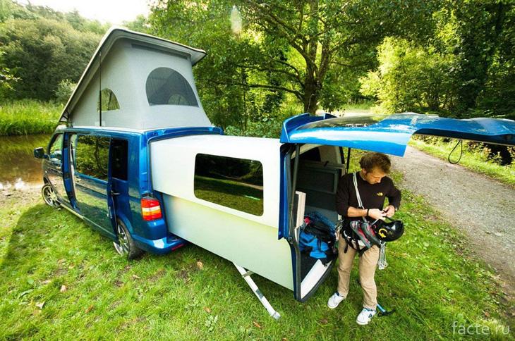 Отличная идея в VW Doubleback