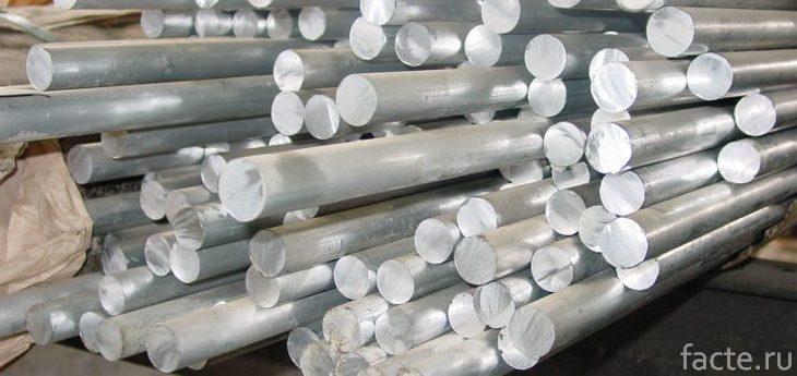 Алюминиевые стержни
