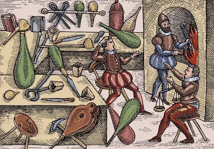 Средневековые алхимики