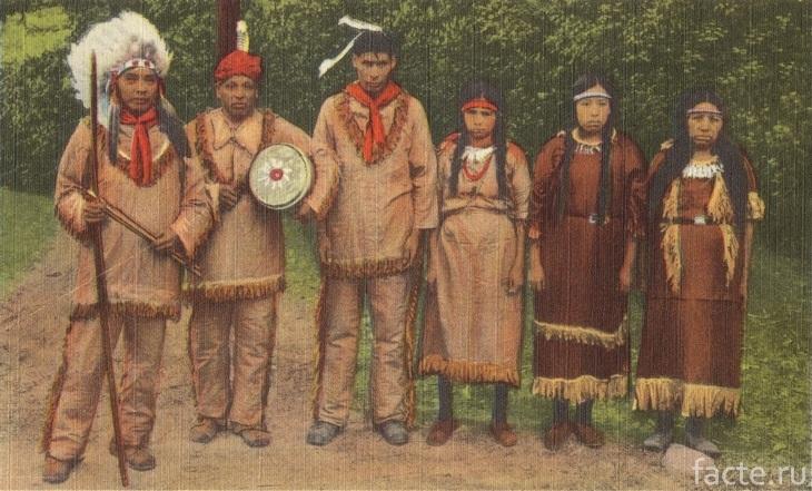 Индейцы чероки