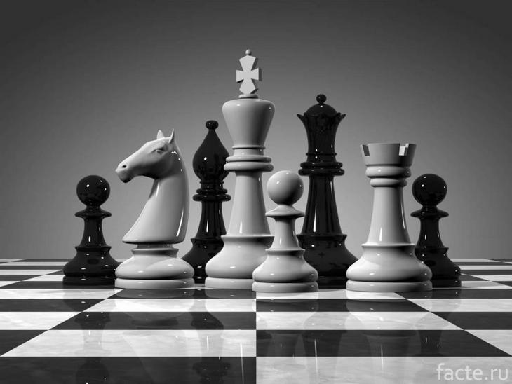 Черно-белые шахматы