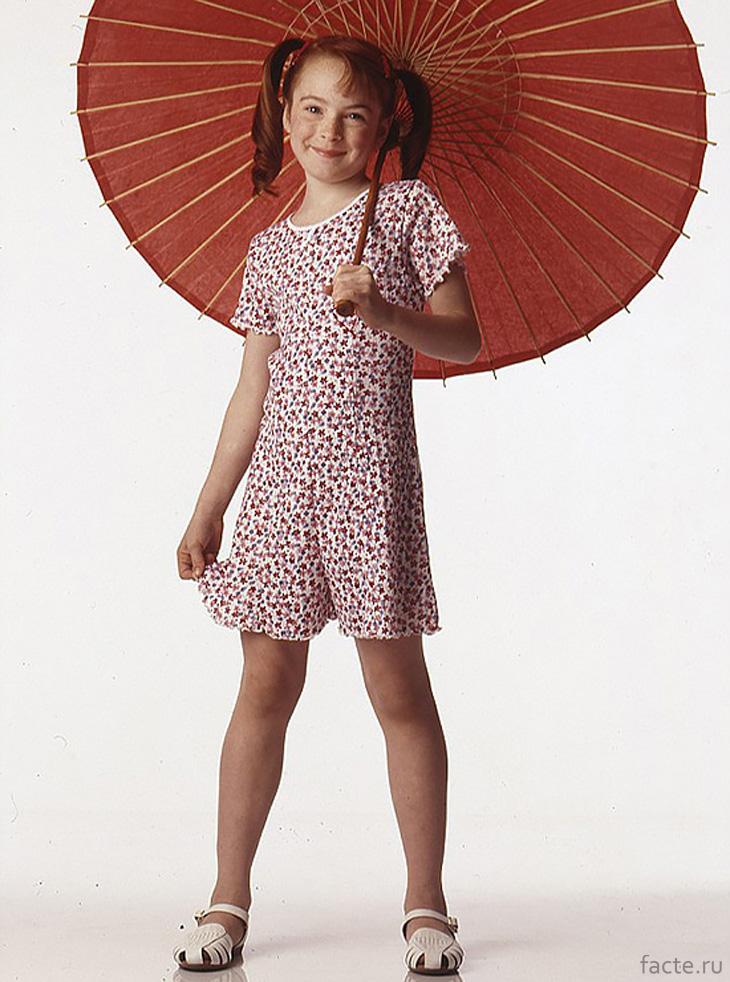 Линдси Лохан в детстве