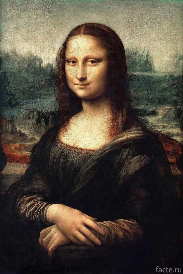 Знаменитая Мона Лиза