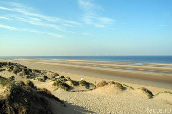 Пляж Формби