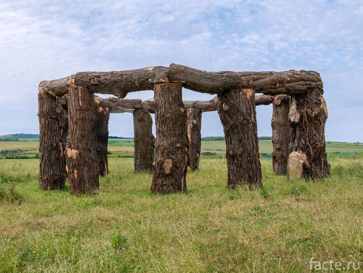 Деревянный хендж