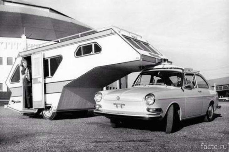 Настоящая легенда рынка кемперов VW Shadow Camper