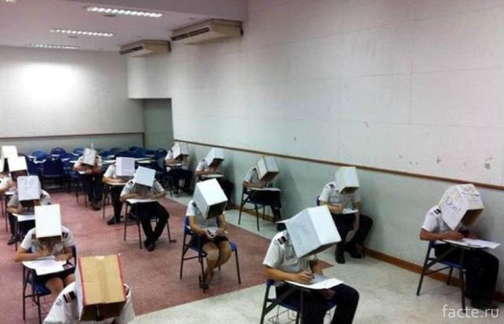 Суровые китайски экзамены