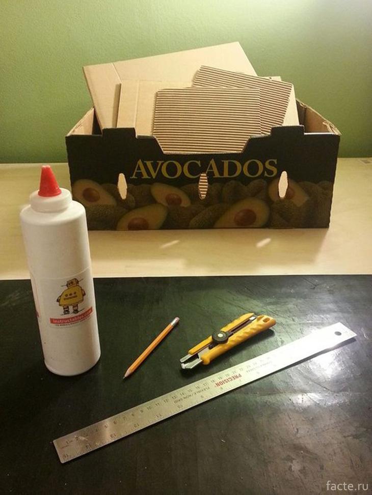 Материалы для когтеточки