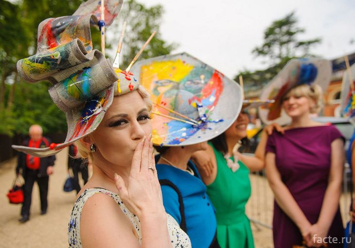 Парад шляп во Франции