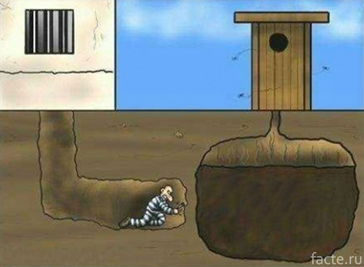 Закон Мерфи. Побег