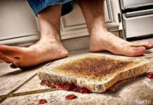 Закон Мерфи. Бутерброд