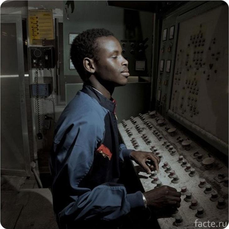 Африканский космонавт