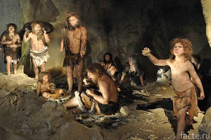 Пещера первобытных людей